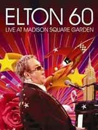 Cover Elton John - Elton 60 - Live At Madison Square [DVD]
